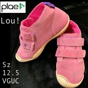 Plae Lou Pink Suede!  Sz 12.5